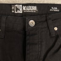 Social Collision, an American Eagle brand . New black denim jeans  . Boys/men size 30/30 Winder, 30680