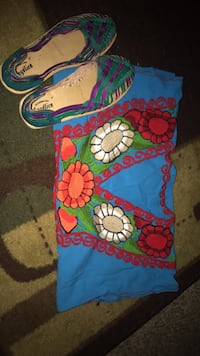 Mexican blouse with shoes  Tulsa, 74146
