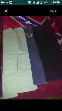 Name brand jeans size 0 and 00  Greenwood, 72936