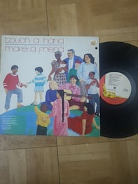 Touch a Hand make a friend vinyl disc with case Toronto, M6B 3Y4