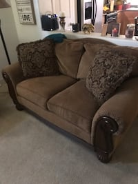 Sofa. Love seat and chair set