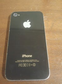 black iPhone 4 unlocked  Vancouver, V6E 4V2