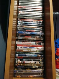 30 DVD s. And 10. Empty cases Rockville, 20853