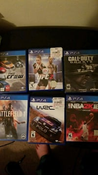Ps4 games  Prineville, 97754