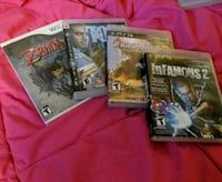Ps3/wii games. Toronto, M6R 1A9