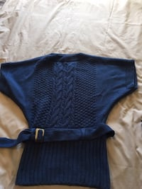 blue knitted mini dress Calgary, T2E 2X6