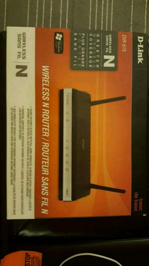 D-Link Wireless N Router DIR- 615