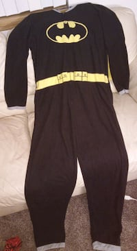 Adult Batman onesie with cape