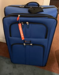 Suitcase - large and soft sided by Delsey