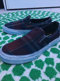 Vans Plaid slip on (men's)
