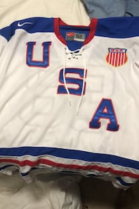 USA Olympic hockey Patrick Kane Jersey