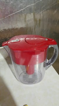 red and clear acrylic BRITA pitcher Jessup, 20794