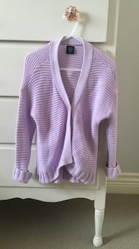 GENTLY Used Toddler Girls Size 3 Baby GAP Lavender Sweater Langley, V2Y 3E8