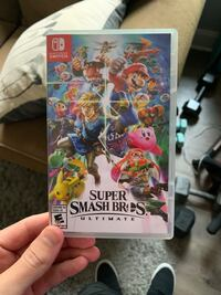 Nintendo Switch Super Smash Bros Ultimate Like new played a few times