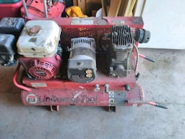 Gas powered 6.5hp Compressor and generator combo