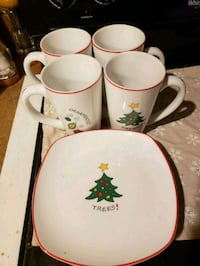 Christmas cups and plates  Cross Junction, 22625