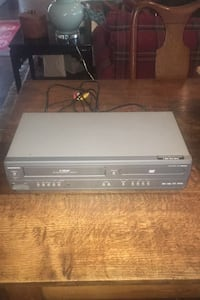 VCR and DVD Player