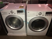 New! LG Front Load Washer and Dryer Set  Dallas, 75229