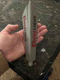 Coors light beer tap handle Stafford, 22554