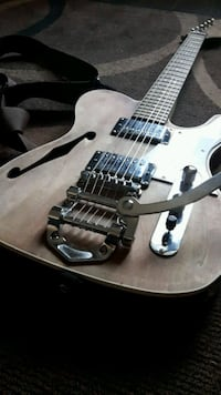 Tele With Bigsby Electric Guitar