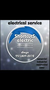 Electrical and wiring repair Moreno Valley, 92557