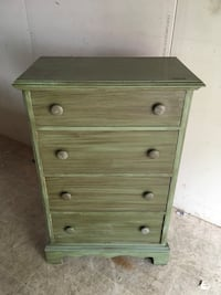 Country green Chest of drawers