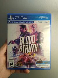New And Sealed Blood and truth VR Toronto, M4B 1E3
