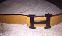 brown and black leather belt Calgary, T2B 2K7