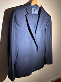 Blue notch lapel suit jacket and pants size 42, Barely used great condition . Woodbridge, 22193