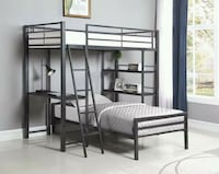 Twin over twin with Bookcase and Desk Lakeland, 33811