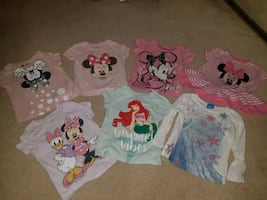 2T disney shirt lot