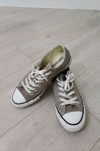 New price! Gray Converse All Star Low Top Sneakers