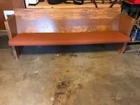 Solid Oak Bench Atwater, 95301