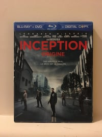 Inception (Blu-ray & DVD) Hamilton, L8J 0G9