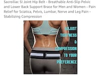 An adjustment belt to help keep your hips in alignment etc  Travelers Rest, 29690