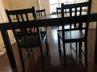 IKEA 4 people dining table set  Toronto, M8Y 2L9