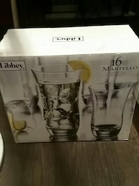 Libbey 16 piece Martello glasses Costa Mesa, 92626