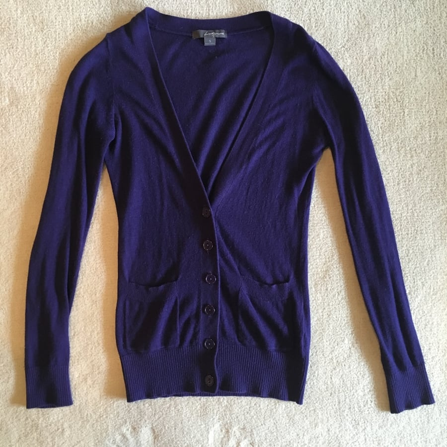 Purple Forever21 Cardigan, Size S