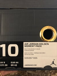 Jordan's Golden Moment Pack Ashburn, 20147