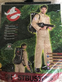 Men's ghostbusters Halloween costume with backpack machine Melville, 11747