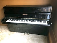 black and white upright piano Citrus Heights, 95610