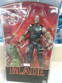Marvel Blade action figure with pack