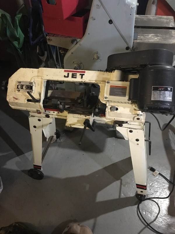 Used Jet 1 2 Hp Band Saw For Sale In Dover Letgo