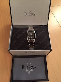 Bulova women's watch with diamonds Toronto, M2H