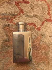 Stainless perfume bottle 1oz length 5/6cm approx width 3 cm approx  London, E13 9AE