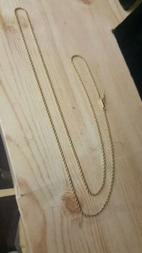 14kt solid gold rope chain, 20inch, 1.5mm Mayfield Heights, 44124