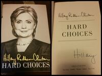 hard choices by hillary rodham clinton autographed 60 mi