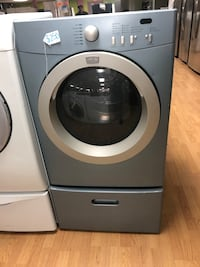 Frigidaire blue dryer with pedestal  Woodbridge, 22191