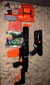 Nerf Blasters Fun For The Kids-30 Nerf Bullets