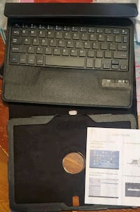 Tablet bluetooth keyboard with case